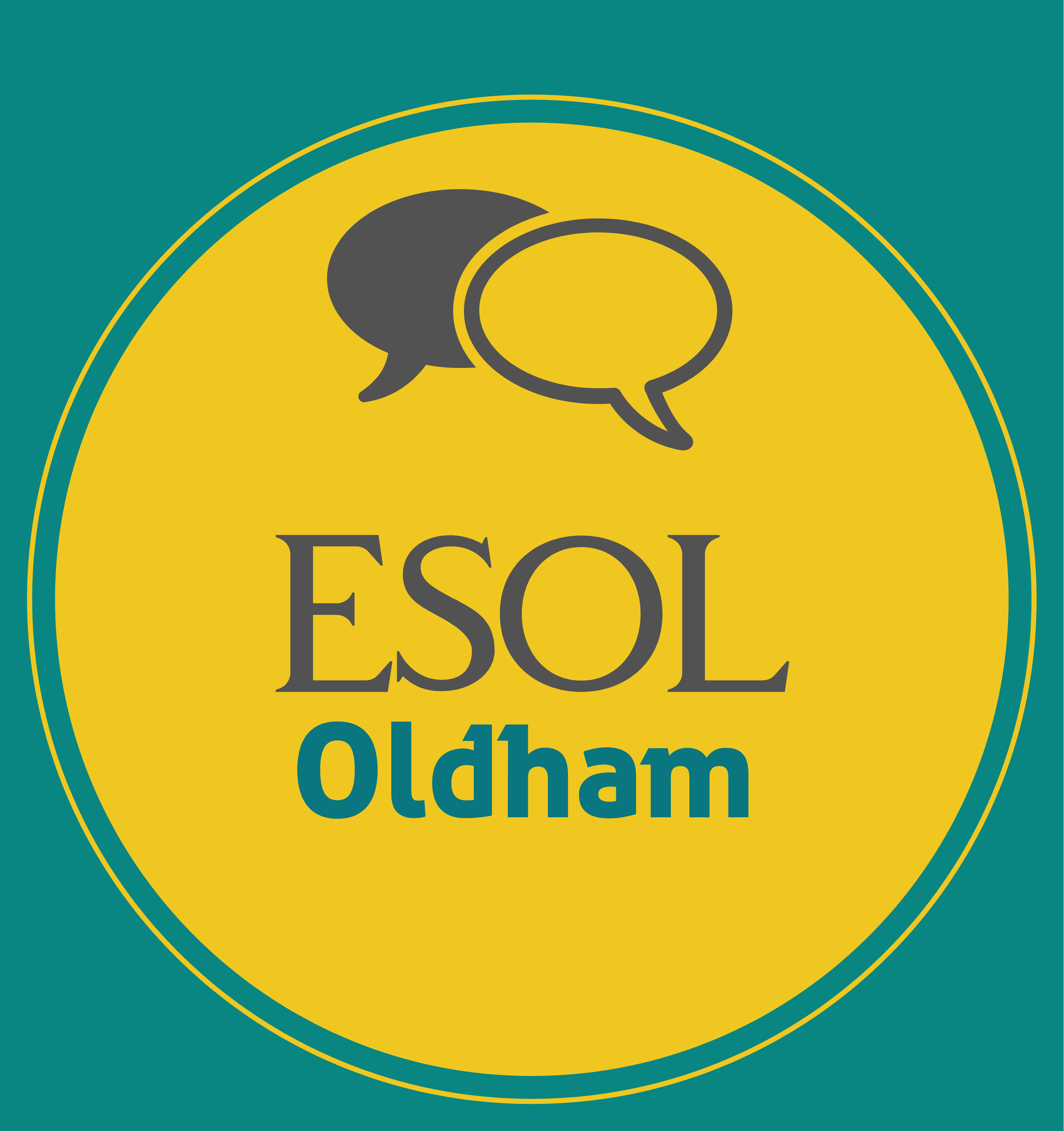 Oldham ESOL logo